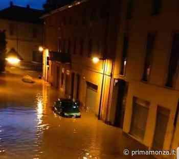 """Il sindaco di Arcore """"In un'ora e mezza è caduta la pioggia di un mese"""" - Giornale di Monza"""