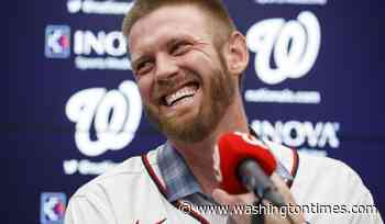 Stephen Strasburg: Clear skies after decade in storm