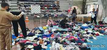 Brigada Militar de Taquari arrecada 10 mil agasalhos em campanha - independente