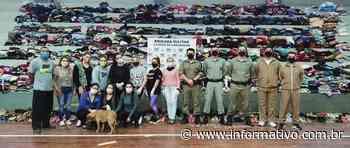 Brigada Militar de Taquari arrecada 10 mil agasalhos - Infomativo