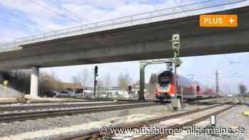 Bahnbrücke erneut gesperrt - Augsburger Allgemeine
