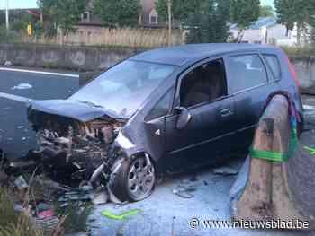 Vijf gewonden bij spectaculair ongeval