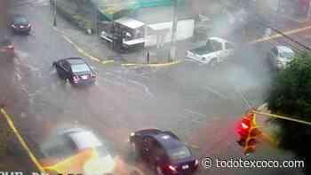 A pesar del intenso aguacero que cayó en Atizapan de Zaragoza funcionó el plan de Prevención - Noticias de Texcoco