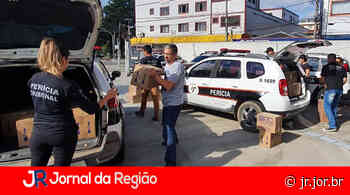 Peritos da Polícia Científica doam 100 cestas básicas em Francisco Morato - JORNAL DA REGIÃO - JUNDIAÍ