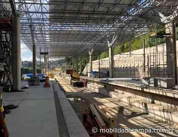 Vídeo: Andamento das obras da estação Francisco Morato da Linha 7-Rubi - Mobilidade Sampa