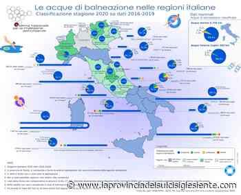 """Ispra: per il 2020, la Sardegna ha il 99,7% di coste classificate come """"eccellenti"""", la classe più elevata - La Provincia del Sulcis Iglesiente"""