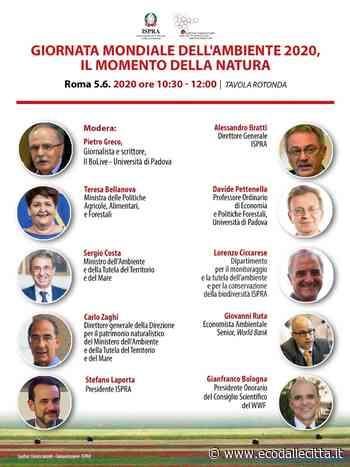 Giornata Mondiale dell'Ambiente, diretta web organizzata da Ispra con i Ministri Costa e Bellanova - ECO dalle CITTA' - Eco dalle Città