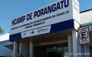Hospital de Campanha de Porangatu está aberto, mas ainda não recebeu pacientes - G1
