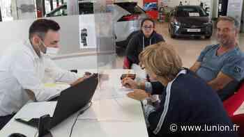 Les clients reviennent dans les concessions automobiles à Epernay - L'Union