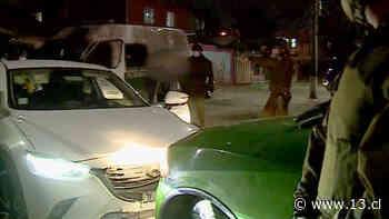 Conductor ebrio chocó a patrulla policial durante agitada fiscalización en La Pintana - 13.cl
