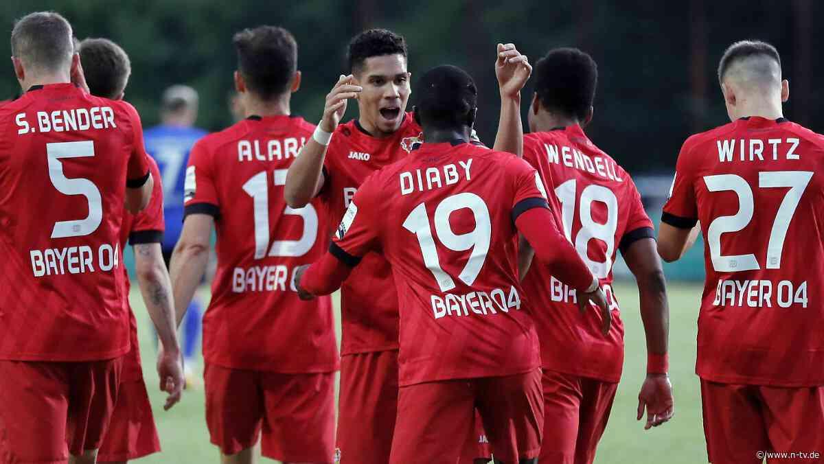 Traum vom Pokalwunder platzt: Leverkusen zerlegt Saarbrücken eiskalt