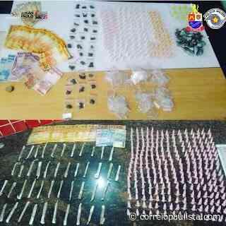 Polícia prende um homem e apreende dois adolescente em Jandira por tráfico de drogas - Correio Paulista