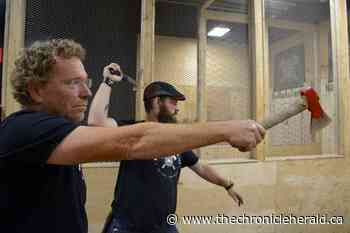 HaliMac closing axe-throwing venue in Kentville - TheChronicleHerald.ca