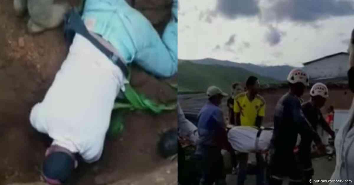 Trabajador murió tras quedar atrapado bajo tierra en Frontino, Antioquia - Noticias Caracol