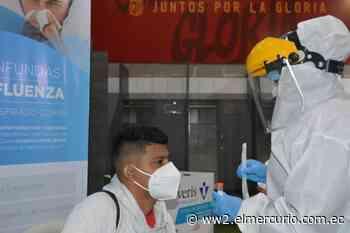 Jugadores del D. Cuenca y Gualaceo SC se someten a pruebas PCR - El Mercurio (Ecuador)