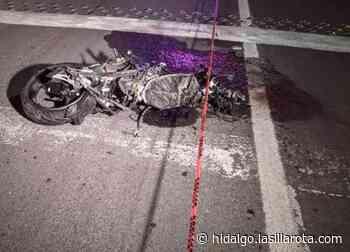 Accidente en moto: dos lesionados y un canino muerto en Mixquiahuala - La Silla Rota