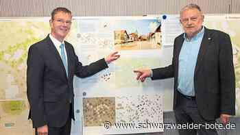 Schopfloch: Rathaus nimmt zentrale Stellung ein - Schopfloch - Schwarzwälder Bote