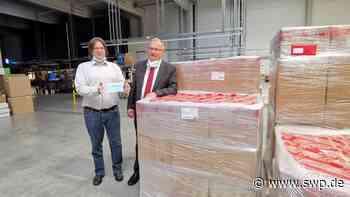 Corona in Langenau: Coltene bangt kurzzeitig um Maskenlieferung - SWP