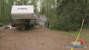 Family in hospital after Slave Lake campground trailer explosion | Watch News Videos Online - CKNW News Talk 980