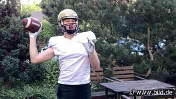 American Football: Mit Hilfe von Björn Werner – Football-Talent Max Lantzsch träumt von der NFL - BILD