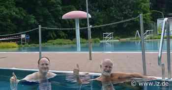 Blomberg eröffnet die Freibadsaison | Lokale Nachrichten aus Blomberg - Lippische Landes-Zeitung
