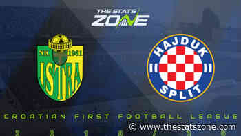 2019-20 Croatian First Football League – Istra 1961 vs Hajduk Split Preview & Prediction - The Stats Zone