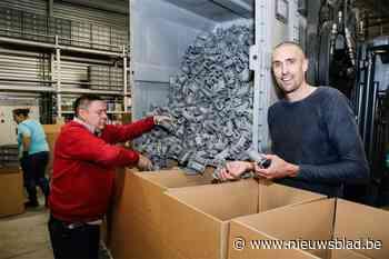 Wuustwezels bedrijf levert miljoenen handvatten om winkelkarretjes 'coronaproof' te maken