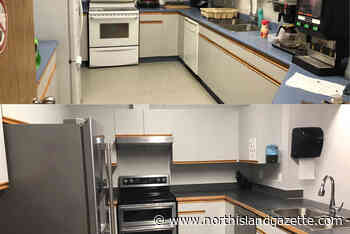 Kitchen renovations at Port Hardy firehall No. 1 are all finished - North Island Gazette