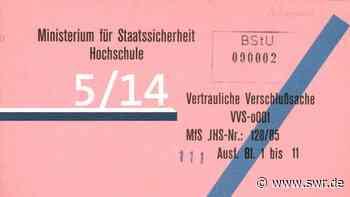 Psychologie-Vorlesung der Volkspolizei Dresden | 1976 | Archivradio | Wissen | SWR2 - SWR