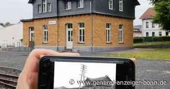 QR-Codes zeigen historische Fotos zu neuen Gebäuden: Eisenbahn-Museum in Asbach öffnet - General-Anzeiger
