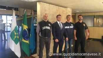 SAN GIUSTO CANAVESE - Premiati i carabinieri che hanno catturato in Brasile il latitante Assisi - QC QuotidianoCanavese