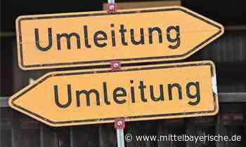Baustellenschilder in Stamsried geklaut - Mittelbayerische