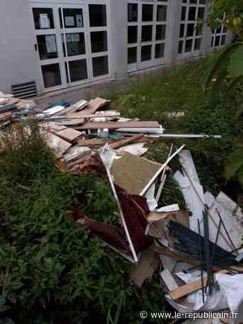 Essonne : des déchets devant le dojo à Saint-Germain-lès-Arpajon - Le Républicain de l'Essonne