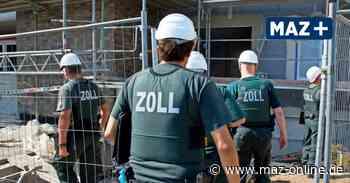 Trainingscampus in Stahnsdorf - Zoll will in Stahnsdorf für Razzien und Grenzkontrollen trainieren - Märkische Allgemeine Zeitung