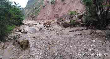 San Martín: amplían estado de emergencia por lluvias en distrito de Uchiza - El Comercio - Perú