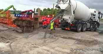 Portogruaro (VE): riaperta la A4 chiusa per un cedimento dell'asfalto - TGR Veneto - TGR – Rai