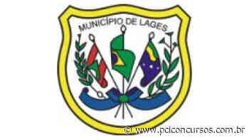 Prefeitura de Lages - SC tem novo Processo Seletivo - PCI Concursos