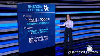 JR Dinheiro: Patricia Lages explica como é o cálculo da conta de luz - R7