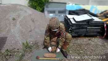 Bomba d'aereo americana ritrovata a Campoformido - Udine Today