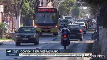 Vespasiano, na Grande BH, instala estações com água e sabão em locais centrais durante pandemia - G1