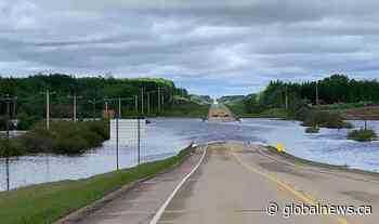 Heavy rain triggers flooding, states of local emergencies in Lac La Biche, Thorhild counties - Globalnews.ca