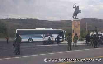 Muere pasajero en autobús rumbo a Tixtla, tenía síntomas de Covid-19 - El Sol de Acapulco