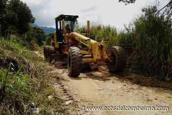 En El Tambo, San Juan de la China y La Esperanza habrá recuperación de vías terciarias - Ecos del Combeima