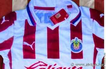 """Filtran """"nuevo"""" jersey de Chivas - El Vigia.net"""
