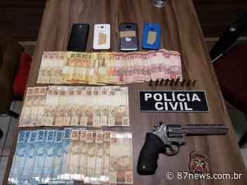 Desarticulado em Garopaba grupo criminoso que atuava em SC e no RS; cinco pessoas foram presas - http://www.87news.com.br/