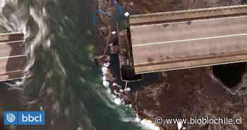 Puente Cancura: en noviembre concluye diseño mientras continúan obras de demolición - BioBioChile