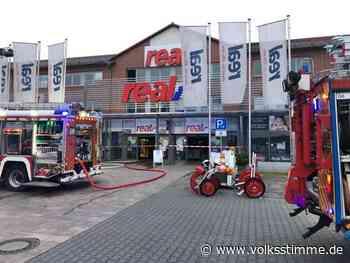 Brand Geldautomat im Einkaufsmarkt gesprengt - Volksstimme