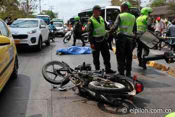 Santandereano murió en accidente de tránsito en Pelaya - ElPilón.com.co