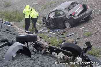 UPDATE: Serious multi-vehicle collision in Conception Bay South sends four to hospital Sunday - The Telegram