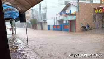 Fotos: Ruas do centro de Pouso Alegre ficam alagadas após temporal - PousoAlegre.net
